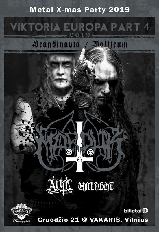 MARDUK + ATTIC + UNLIGHT: Viktoria Europa Tour 2019