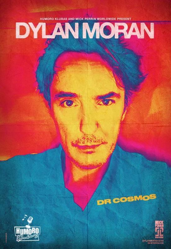 Dylan Moran – Dr. Cosmos in Vilnius