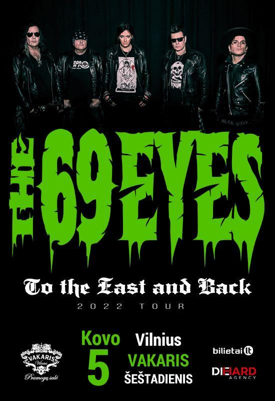 THE 69 EYES – To The East And Back Tour 2022