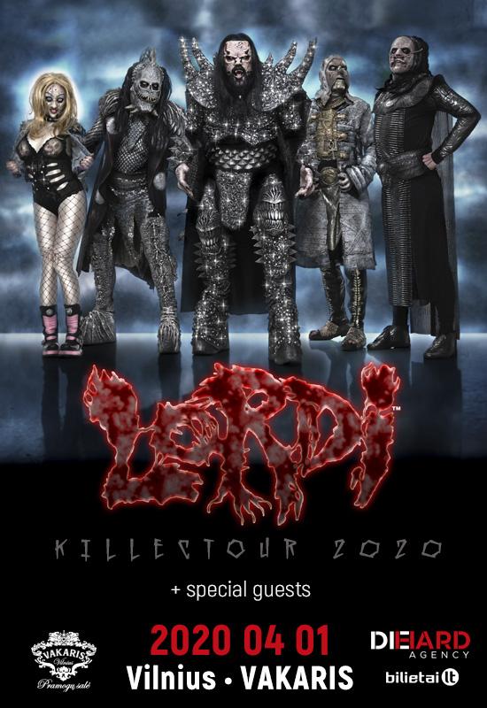 LORDI + special guests – Killectour 2020 – Vilnius