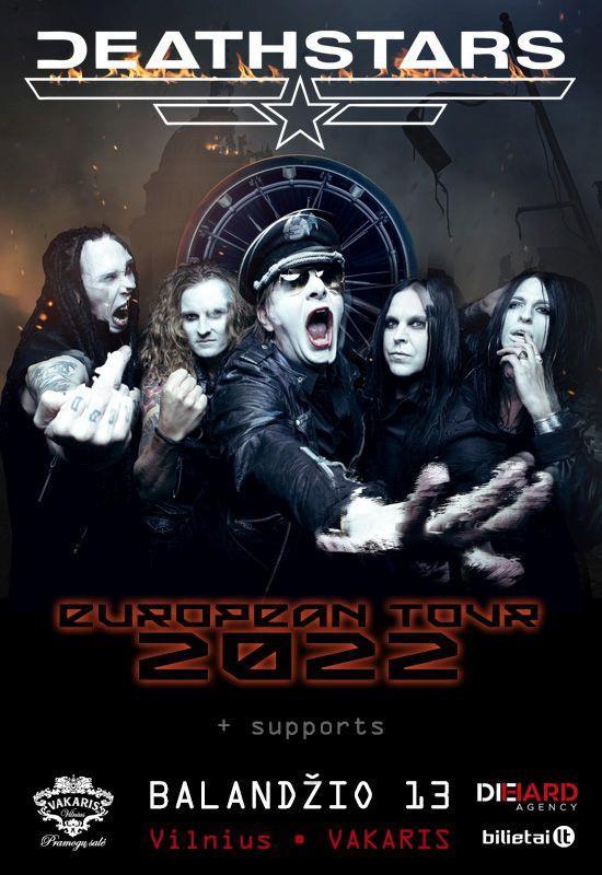 DEATHSTARS – European tour 2021