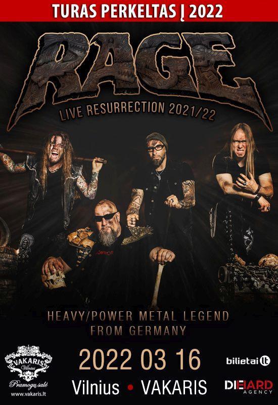 RAGE – Live Resurrection 2022